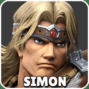 Simon Character Icon Super Smash Bros Ultimate