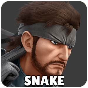 Snake Character Icon Super Smash Bros Ultimate