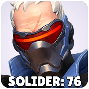 Soldier 76 Hero Icon Overwatch