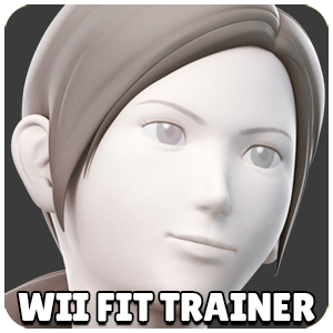 Wii Fit Trainer Character Icon Super Smash Bros Ultimate