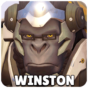 Winston Hero Icon Overwatch