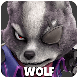 Wolf Character Icon Super Smash Bros Ultimate