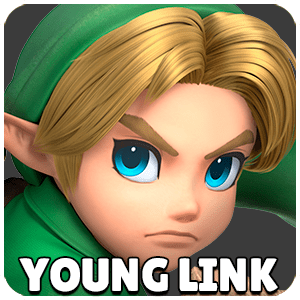 Young Link Character Icon Super Smash Bros Ultimate