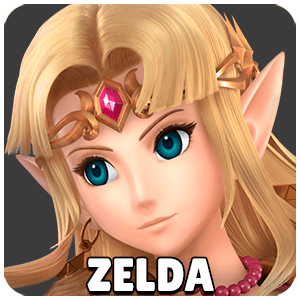 Zelda Character Icon Super Smash Bros Ultimate