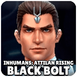 Black Bolt Inhumans Attilan Rising Character Icon Marvel Future Fight