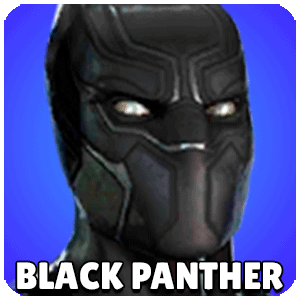 Black Panther Character Icon Marvel Strike Force