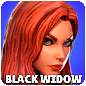 Black Widow Character Icon Marvel Strike Force