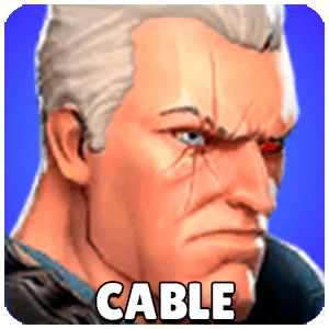 Cable Character Icon Marvel Strike Force