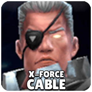 Cable X-Force Character Icon Marvel Future Fight
