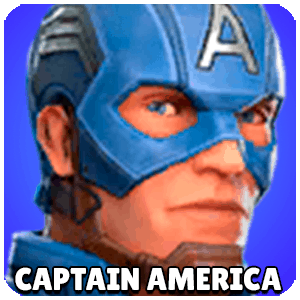 Captain America Character Icon Marvel Strike Force