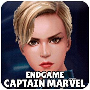 Captain Marvel Endgame Character Icon Marvel Future Fight