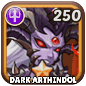 Dark Arthindol Hero Icon Idle Heroes