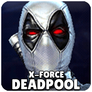 Deadpool X-Force Character Icon Marvel Future Fight