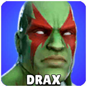 Drax Character Icon Marvel Strike Force