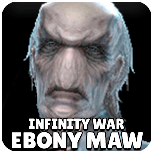 Ebony Maw Infinity War Character Icon Marvel Future Fight