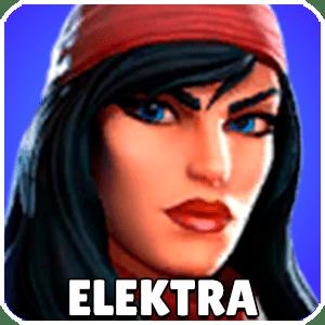 Elektra Character Icon Marvel Strike Force
