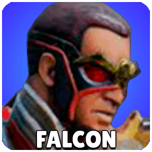 Falcon Character Icon Marvel Strike Force