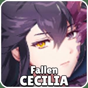 Fallen Cecilia Hero Icon Epic Seven