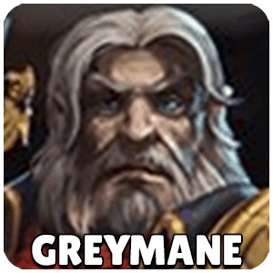 Greymane Hero Icon Heroes Of The Storm