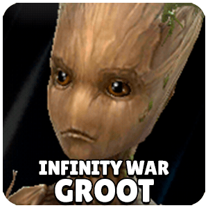 Groot Infinity War Character Icon Marvel Future Fight