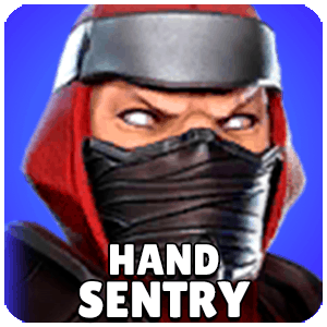 Hand Sentry Character Icon Marvel Strike Force