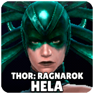 Hela Thor Ragnarok Character Icon Marvel Future Fight