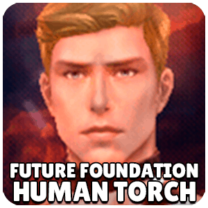 Human Torch Future Foundation Character Icon Marvel Future Fight