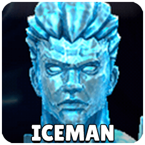 Iceman Character Icon Marvel Future Fight