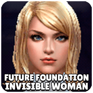 Invisible Woman Future Foundation Character Icon Marvel Future Fight