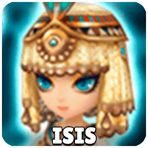Isis Character Monster Icon Summoners War
