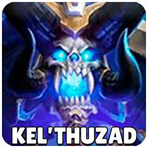 Kel Thuzad Hero Icon Heroes Of The Storm