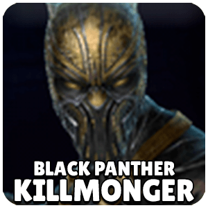 Killmonger Black Panther Character Icon Marvel Future Fight