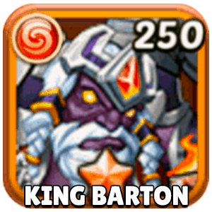 King Barton Hero Icon Idle Heroes
