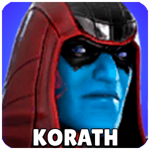Korath The Pursuer Character Icon Marvel Strike Force