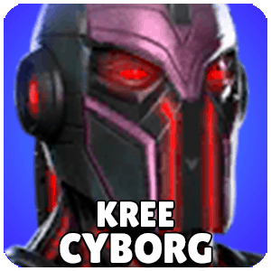 Kree Cyborg Character Icon Marvel Strike Force