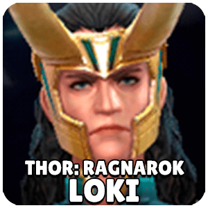 Loki Thor Ragnarok Character Icon Marvel Future Fight