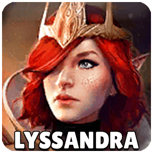 Lyssandra Champion Icon Raid Shadow Legends