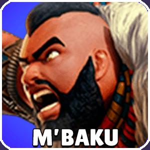 M Baku Character Icon Marvel Strike Force