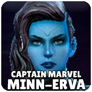 Minn-Erva Captain Marvel Character Icon Marvel Future Fight