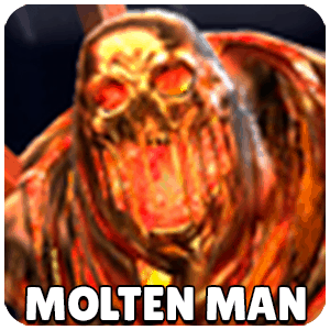 Molten Man Character Icon Marvel Future Fight