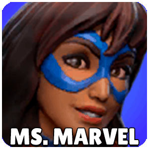 Ms. Marvel Character Icon Marvel Strike Force