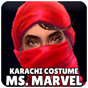 Ms. Marvel Karachi Costume Character Icon Marvel Future Fight