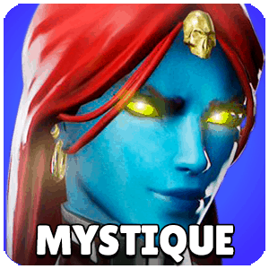 Mystique Character Icon Marvel Strike Force