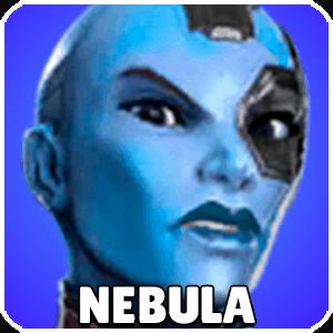 Nebula Character Icon Marvel Strike Force