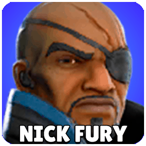 Nick Fury Character Icon Marvel Strike Force