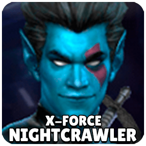 Nightcrawler X-Force Character Icon Marvel Future Fight