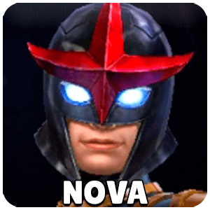 Nova Character Icon Marvel Future Fight