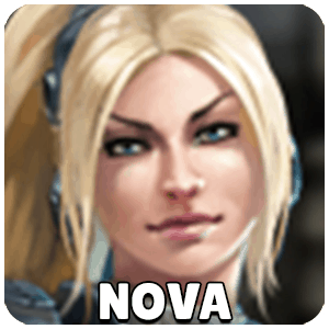 Nova Hero Icon Heroes Of The Storm