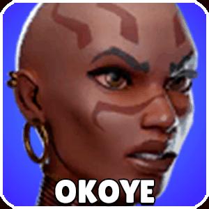 Okoye Character Icon Marvel Strike Force