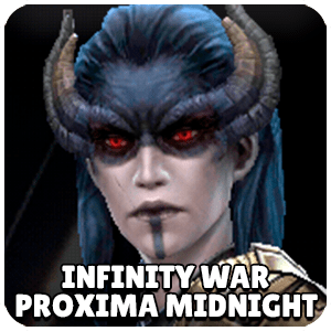 Proxima Midnight Infinity War Character Icon Marvel Future Fight